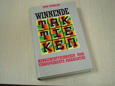 Winkler, John  - Winnende  Taktieken -  Management/technieken voor verkoop gerichte