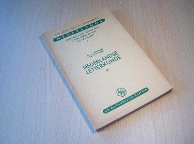 KARSEMEIJER - Nederlandse Letterkunde FIGUREN EN WERKEN DEEL IIA