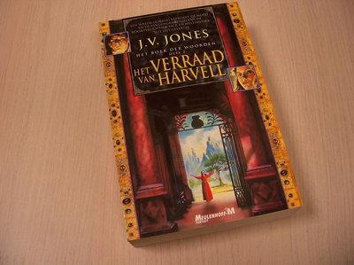 Jones, J.V. - Het boek der woorden / 2 Het verraad van Harvell / druk 1