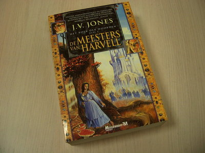Jones, J.V. - Het boek der woorden / 1 De meesters van Harvell / druk 1