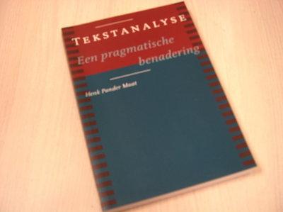 Pander Maat, Henk - Tekstanalyse - een pragmatische benadering