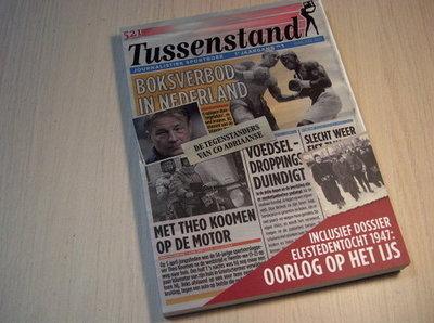 Croon - Tussenstand 1e Jaargang nr. 1. Journalistiek Sport