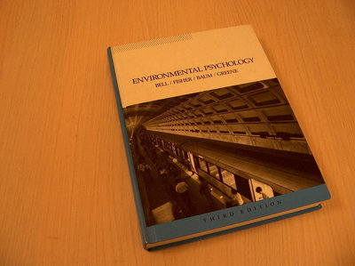 Beel / Fischer / Baum / Greene - Environmental Psychology Third Edition
