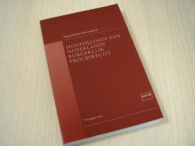 Hugenholtz, W. Heemskerk, W. - Hoofdlijnen van Nederlands burgerlijk procesrecht