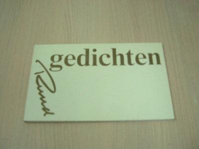 Heijden, Ruud van der - Gedichten Ruud.