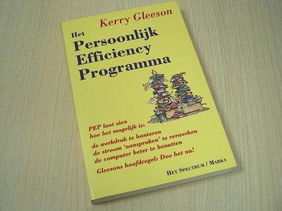 Gleeson, Kerry - Het persoonlijk efficiency programma