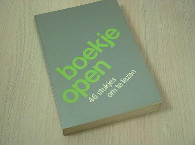 verzameld door: andré aald - Boekje  open. 46 stukjes om te lezen