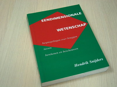 Eendimensionale wetens - Snijders, Hendrik