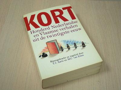 Aarts C.J. en van Etten, M.C. - KORT - Honderd Nederlandse en Vlaamse verhalen uit de twintigste ee